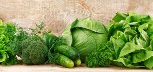 Grünes Gemüse