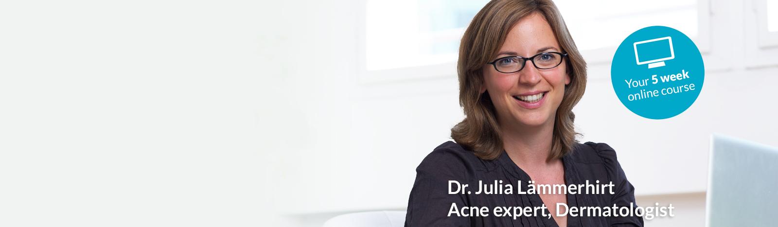 Acne expert Julia Lämmerhirt