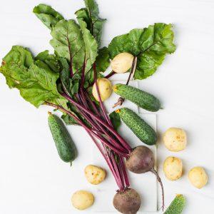Rote Beete Detox Gemüse